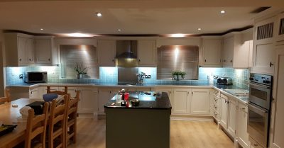 Kitchen respray in Wrexham North Wales